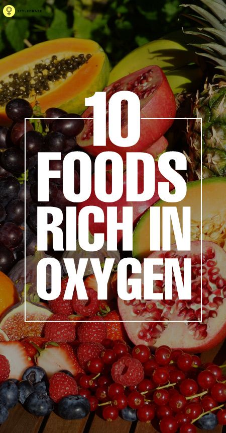 Are you planning to start a diet to get more oxygen in your blood? Then you need to make sure that you should start consuming oxygen rich foods, which help increase the oxygen levels in your blood.