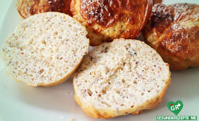 Chia- Eiweißbrötchen, low carb Diät rezept