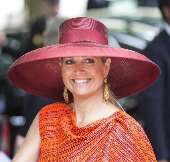 Queen Maxima of The Netherlands attended the Four Freedoms award ceremony on May 24, 2014 in Middelburg, Netherlands.