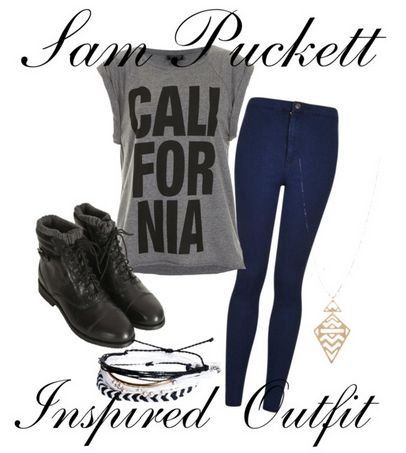 """Sam Puckett (Jennette McCurdy) Inspired Outfit for Season 1 Episode 3 of Sam & Cat """"#TheBritBrats"""".  **Make sure you check out www.allaboutsamandcat.com for more posts!"""