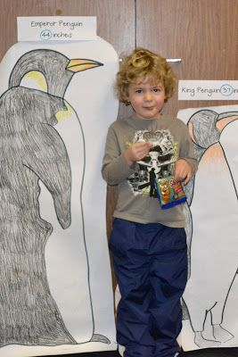 From The Hive: Penguin math day -preschool style