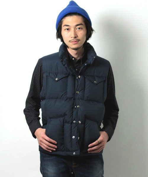 Beams X The North Face Purple Label Down Vest (With Images