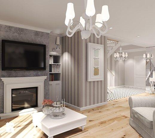 Salon, styl klasyczny - zdjęcie od Agata Hann Architektura Wnętrz