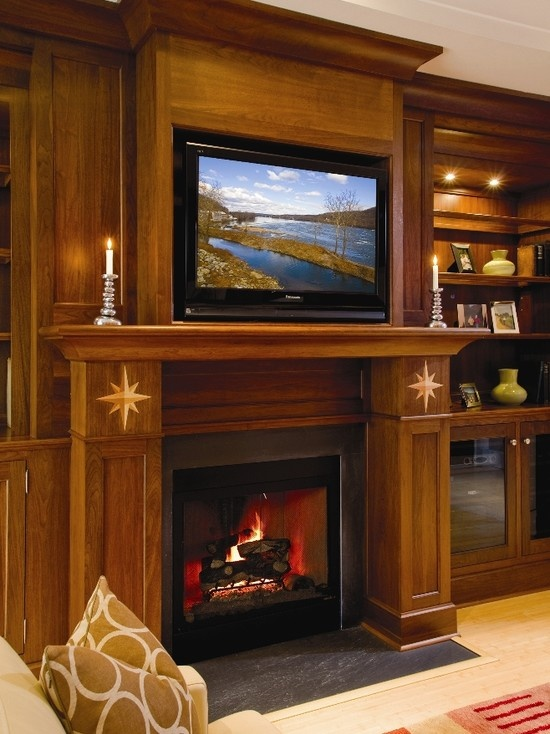 Luxury Fireplace Mantels with Tv
