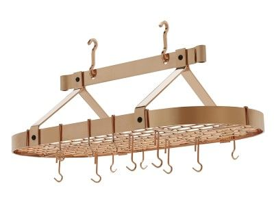 Enclume Traditional Oval Pot Rack #williamssonoma
