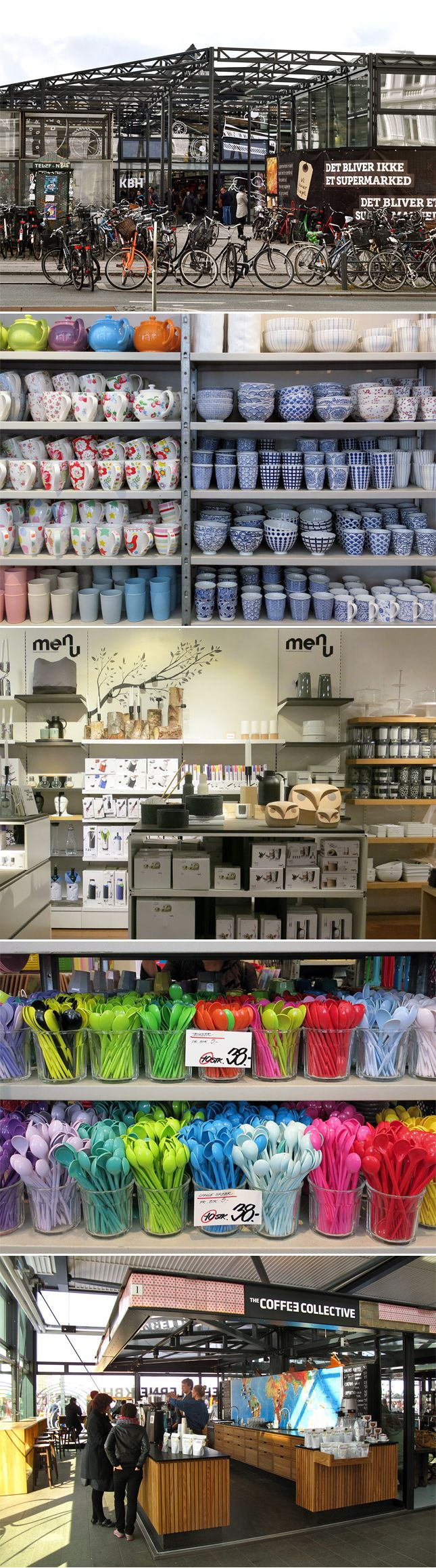 Top Five Stores for Food, Craft, and Design Lovers in Copenhagen