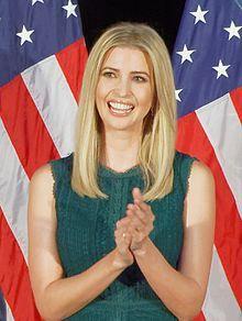 Photo portrait of Ivanka Trump