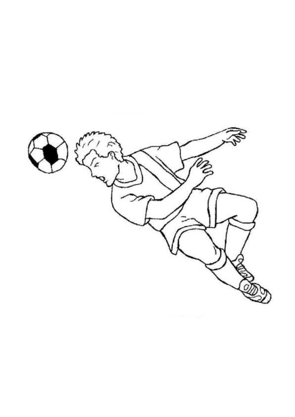 Quatang Gallery- Kids N Fun Kleurplaat Voetbal Voetbal In 2020 Kleurplaten Voetbal Kinderen