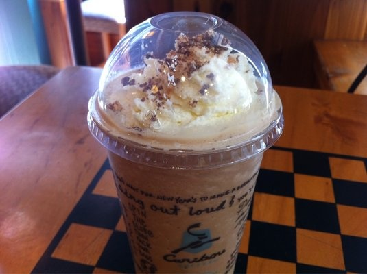 Caribou Turtle Mocha Cooler, why can't they have Caribou everywhere??