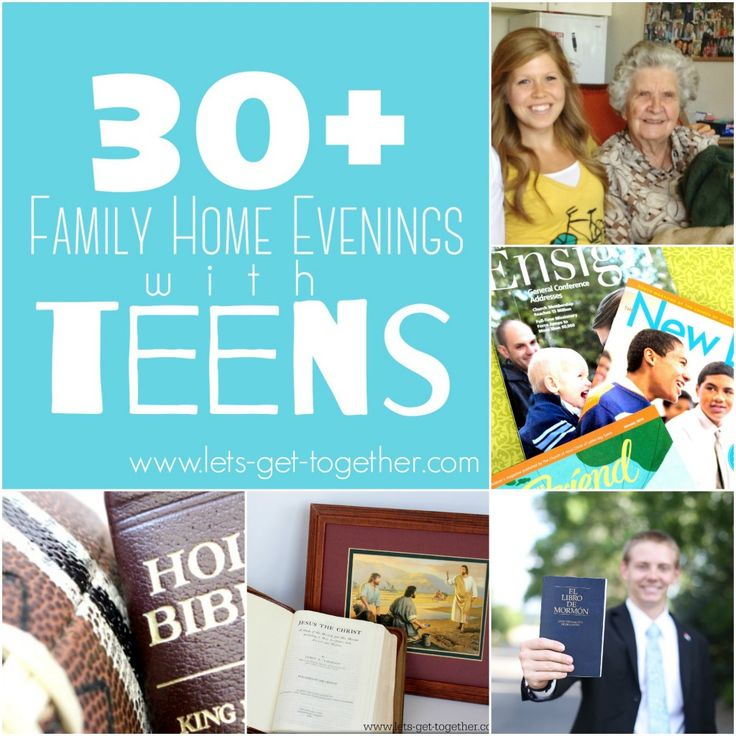 family home evening ideas for older couples family home evening