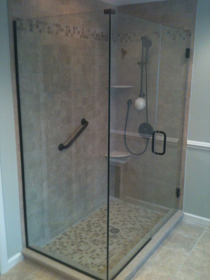 13 best Glass Shower Doors images on Pinterest | Frameless shower ...