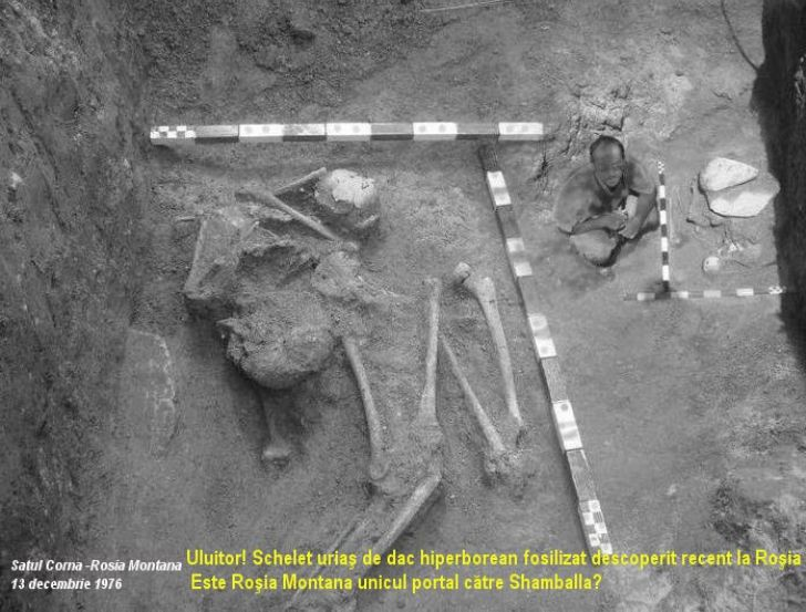 Giant skeleton found in Romania   2012 The Awakening