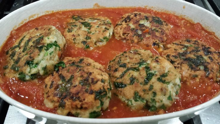 boulettes de poisson et sa divine sauce tomate