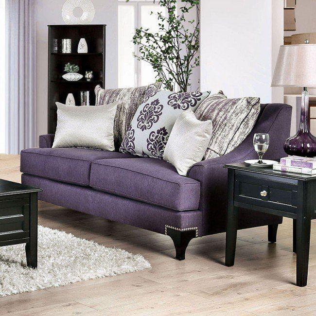 Sisseton Living Room Set Purple Purple Living Room Living Room Designs Living Room Sets