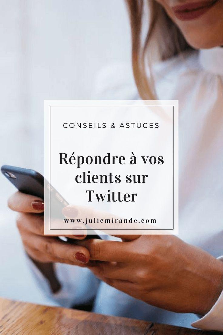 6 conseils pour transformer votre compte Twitter en service client #socialmedia #réseauxsociaux #twitter