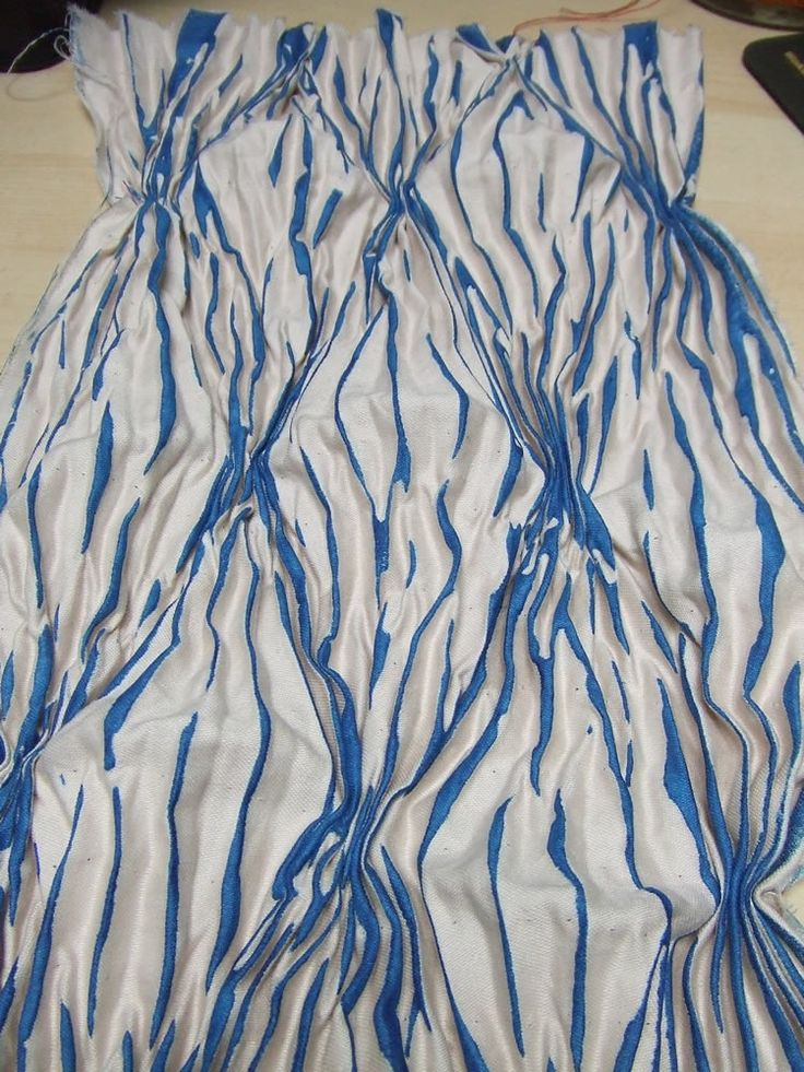 pleated printing stitched2