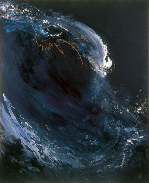'Night wave II', 2006 - Maggi Hambling (b. 1945)