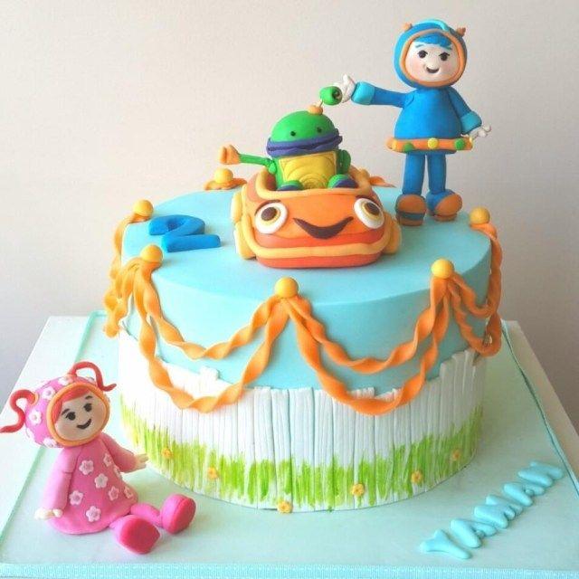 Enjoyable 23 Marvelous Image Of Team Umizoomi Birthday Cake Birthday Cake Personalised Birthday Cards Epsylily Jamesorg