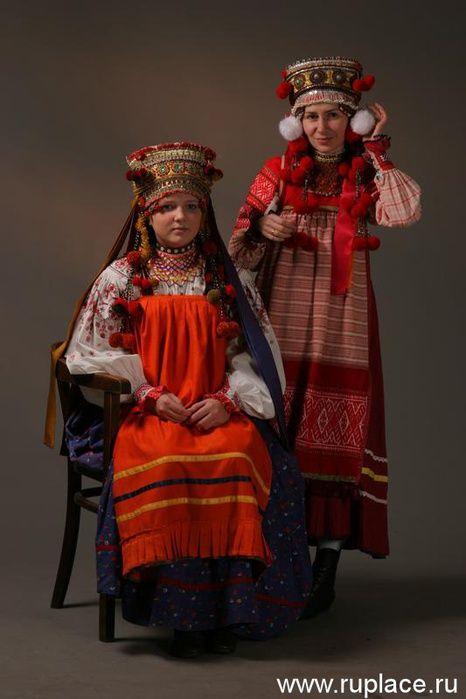 Русский костюм. Орловская область