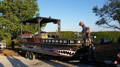 bowfishing from a pontoon boat - Google Search