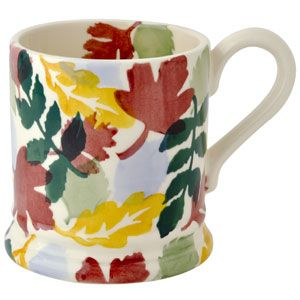 Woodland Trust Special 1/2 Pint Mug by Emma Bridgewater in the UK.  I think this is going to be my new Autumn mug ~~~
