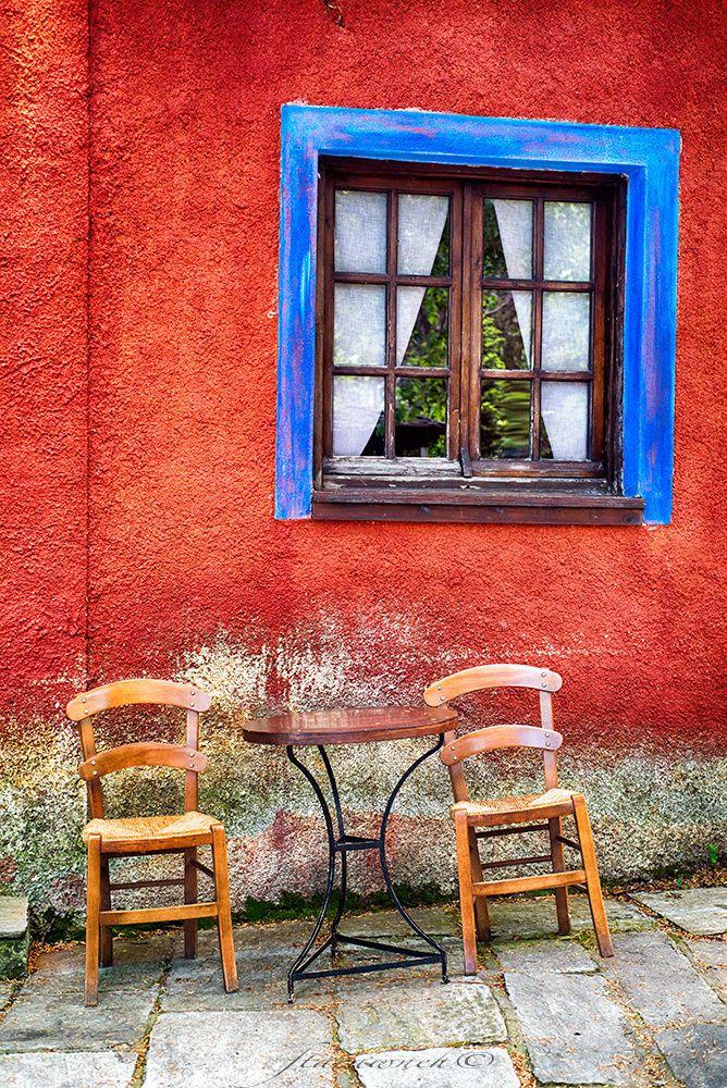 Coffee shop in Pilio, Greece