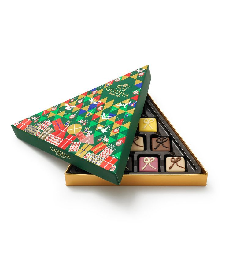 Godiva Chocolatier LimitedEdition 10Piece Christmas Petit Fours Gift Box #Dillards