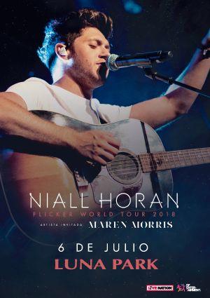 Niall Horan con Tarjeta Santander Río