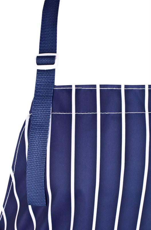 Fartuch wodoochronny wykonany z tkaniny poliestrowej powleczonej poliuretanem. http://kitle.pl/odziez-dla-gastronomii-dla-kucharzy-gastronomiczna/fartuchy-wodoochronne-gastronomiczne/fartuch-wodoochronny-w-pasy.html