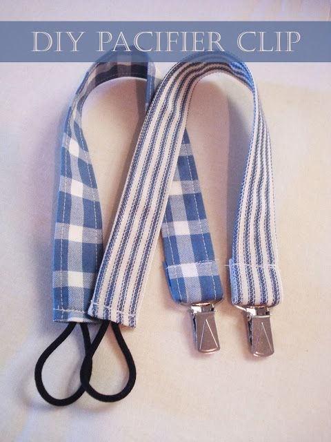DD Kimball Road: DIY - Pacifier Clip (Baby Shower)