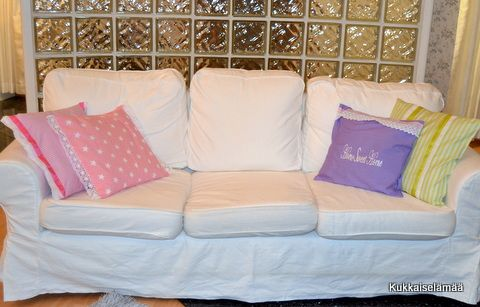 New cushions in the living room 2014