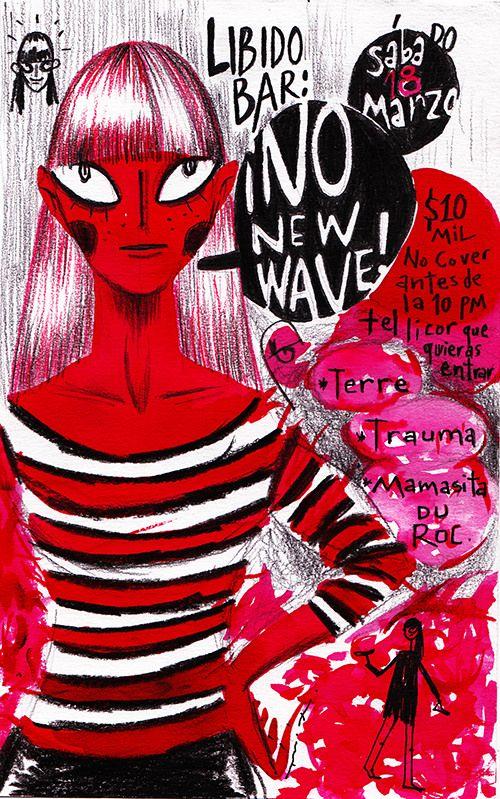 https://flic.kr/p/SSvJDA | ¡No New Wave! en Libido, sábado 18 de marzo (Medellín). | Y nos fuimos, este sábado 18 de marzo ¡no new wave! en LIBIDO BAR:  Después de un largo rato de ausencia regresa ¡no new wave! ¿Ausencia? ¿Muerte o de parranda? No lo sabremos si no bailamos y para eso estamos este sábado 18 de marzo desde las 9pm.   La fiesta que es un partido político del baile.   En la selección y pilotaje:  * TERRE * TRAUMA * Mamasita Du Roc*  Cover 10mil, NO COVER antes de las 10 pm y…