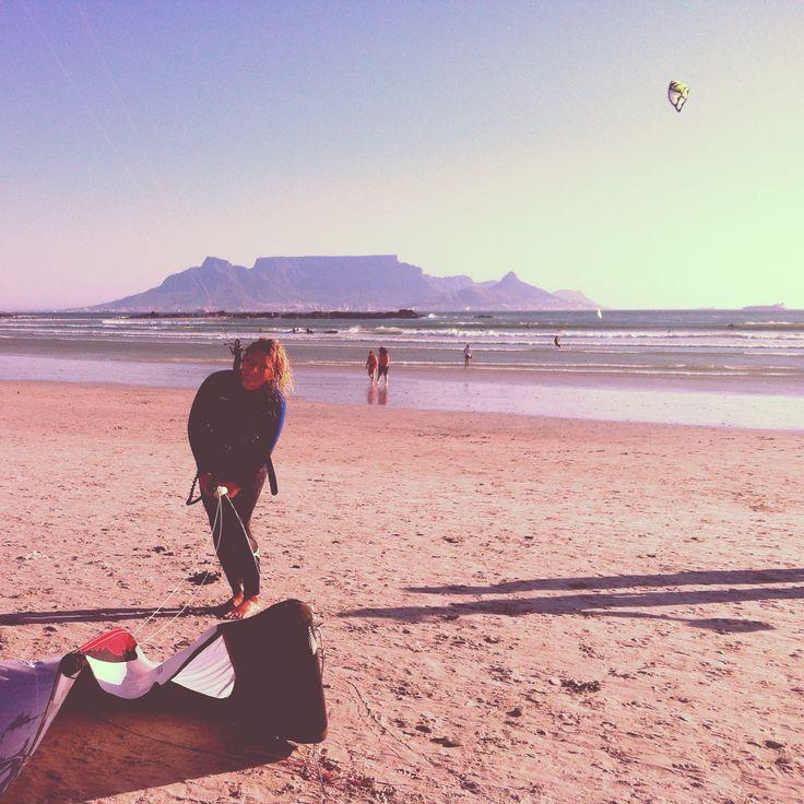 Sanne - Kitesurfing