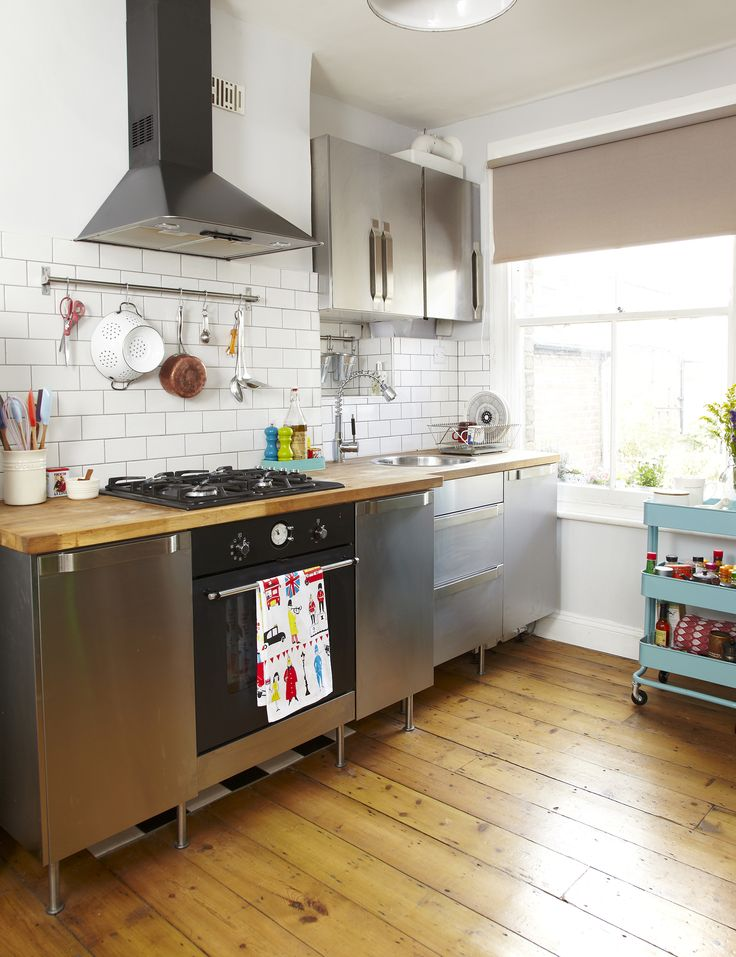 Industrial Kitchen Look As Seen In Style At Home Magazine