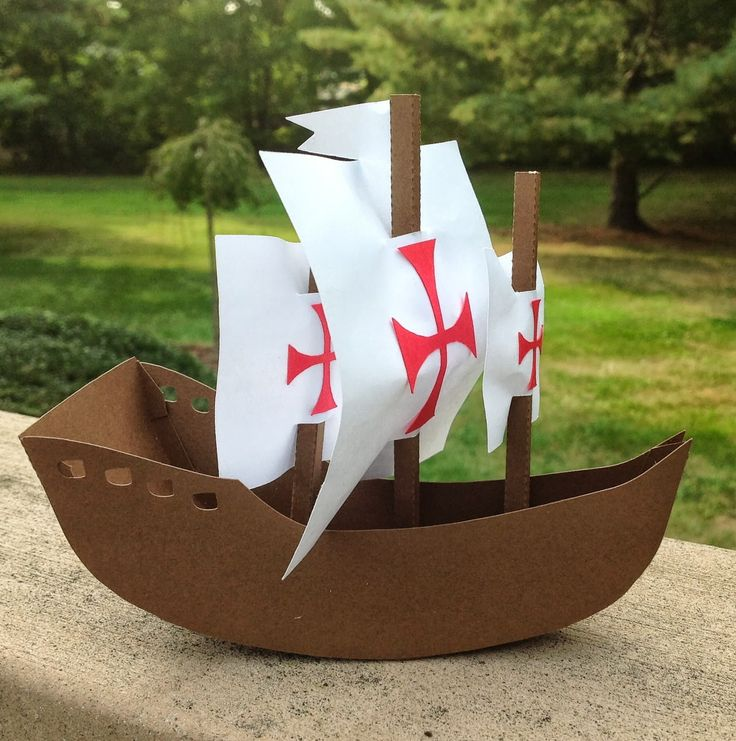 Papercrafts and other fun things: Can You Name the Three Ships That Sailed with Columbus?