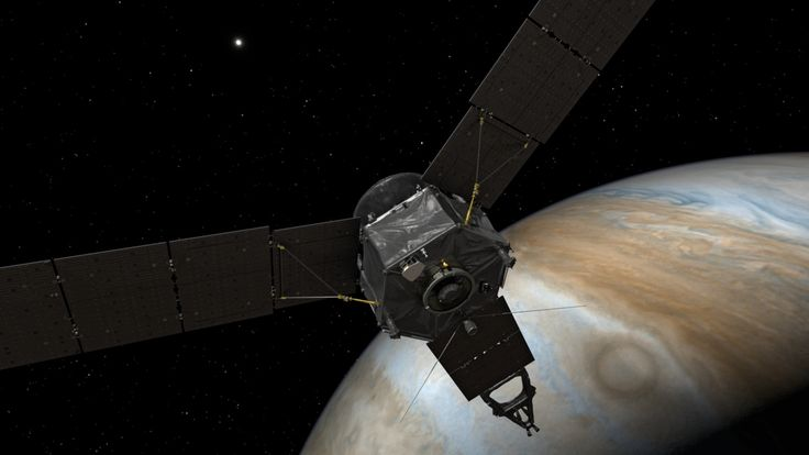 Braving intense radiation, a NASA spacecraft reached Jupiter on Monday after a five-year voyage to begin exploring the king of the planets.