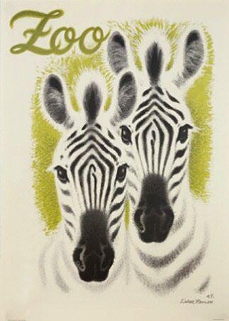 Zoo plakat - Køb online hos Permild & Rosengreen