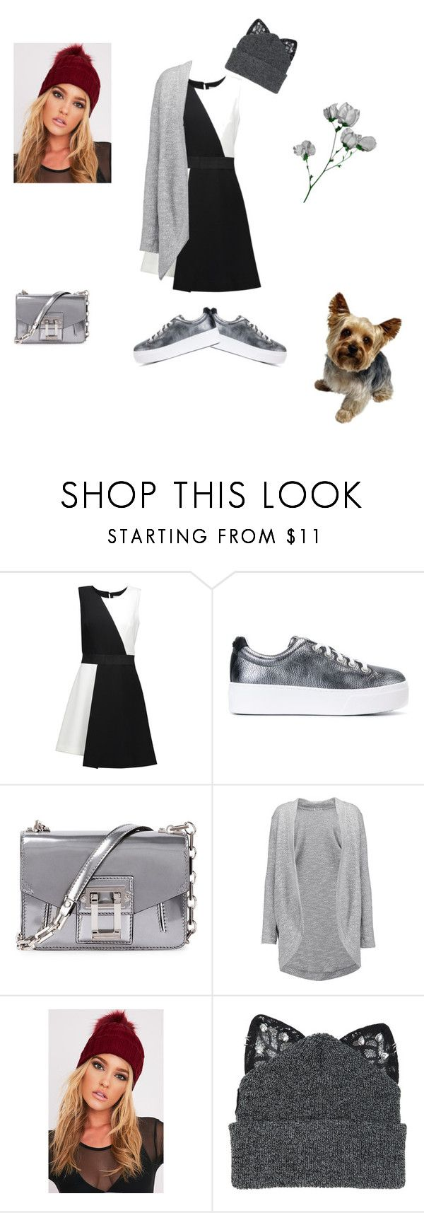 """""""Because I Can.."""" by katieness ❤ liked on Polyvore featuring Milly, Kenzo, Proenza Schouler, Splendid and Silver Spoon Attire"""