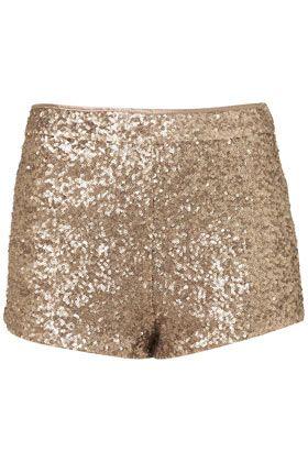 Golden Knickers via TopshopFashion, Glitter Shorts, Sequins Knickers, Style, Gold Sequins Shorts, Saia Mini-Sequins, Golden Knickers, Topshop Gold, Sequin Shorts