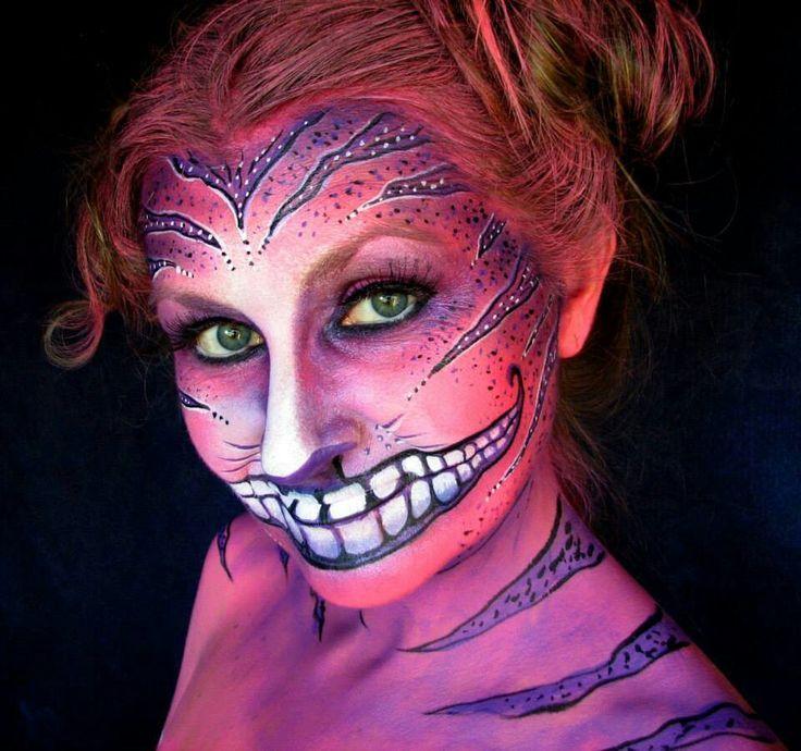 Alice In Wonderland Caterpillar Body Paint