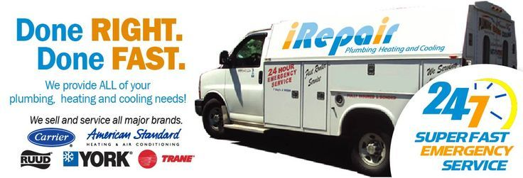 """For several years, iRepair Heating, Air Conditioning and Plumbing has provided many residential and commercial customer with reliable Heating Services. As a local, family owned HVAC company, our goal is very simple – """"To provide all our customers with high quality services that meet their needs and budget."""""""
