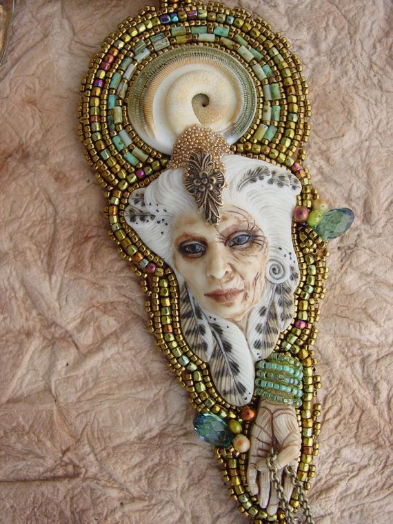 Honoring Crone Necklace by HeidiKummliDesigns on Etsy