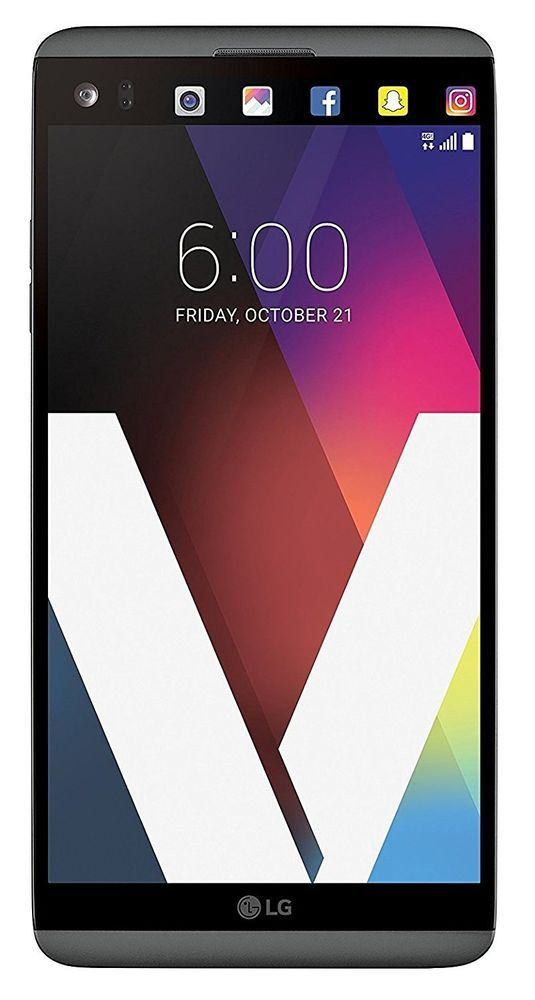 LG V20 64GB 5.7-Inch 16MP + 8MP Dual SIM LTE FACTORY UNLOCKED TITAN GRAY #LG #Bar