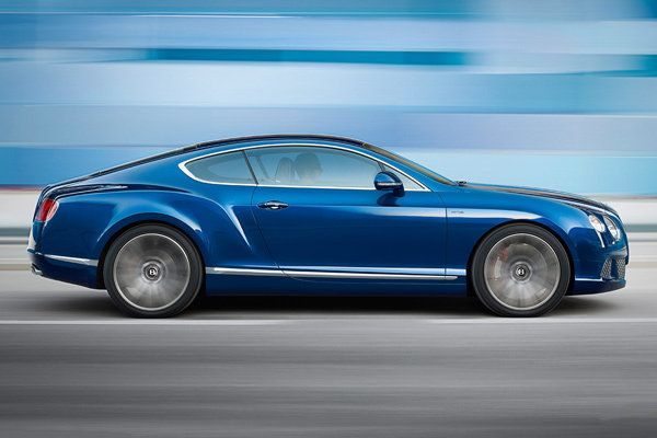 Bentley Continental GT Speed    Top Speed: 205 mph   Engine: 616 HP 6.0L W 12 (Twin Turbocharged)  MSRP: $234,000