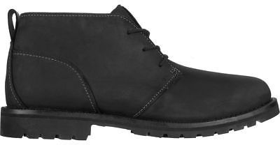 Timberland Grantly Chukka Shoe - Men's Black Full-Grain 13.0
