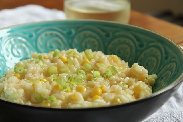 Sweet Corn Risotto YOU WILL LOVE THIS WONDERFUL DISH. IT IS SO VERY ...
