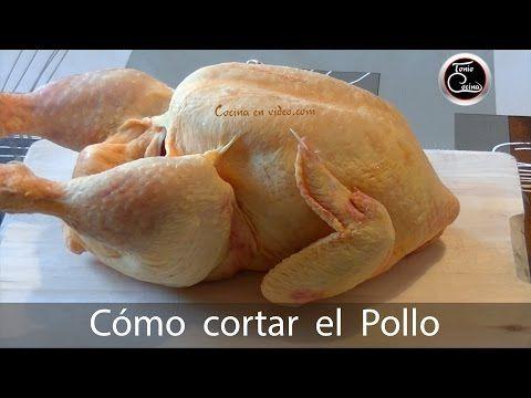 Cómo cortar el pollo. Trucos y consejos para cortarlo fácilmente - 278 - #CocinaEnVideo - YouTube