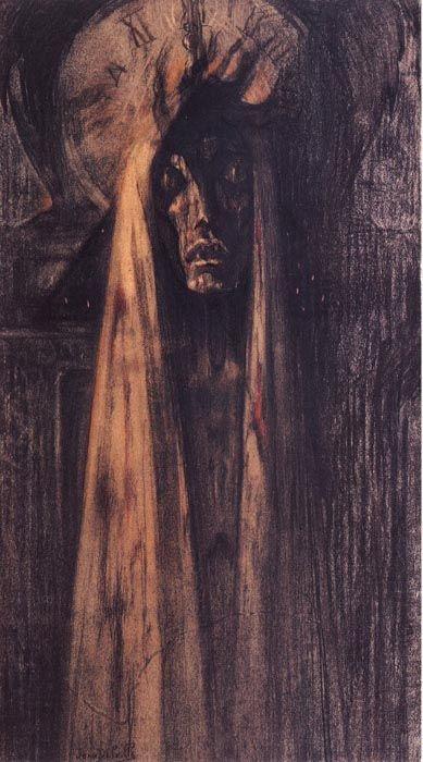 Jean Delville - Death 1890