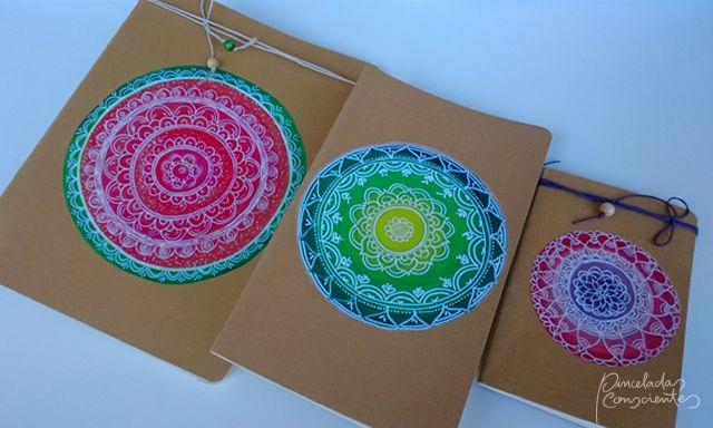 Cuadernos – Artesanía – Pinceladas Conscientes