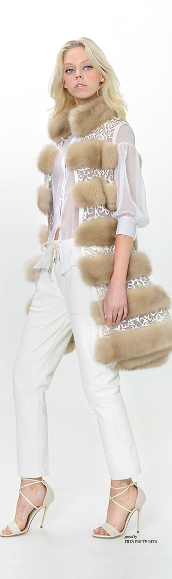 KIMMYLOULA APPROVED..TO MY CLOSET! Dennis Basso Resort 2015 - pin courtesy of Tres Haute Diva  c